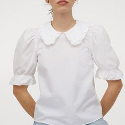 Collared Blouse   H&M (US)