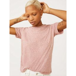 Free Assembly Women's Tri-Blend Jersey Ringer T-Shirt with Short Sleeves | Walmart (US)