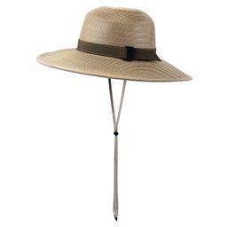 Women's Wide Brim Straw Sun Hat | SwimZip