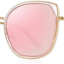 OLIEYE Cat Eye Polarized Sunglasses for Women Ladies Brand Trending Sun glasses UV400 | Amazon (US)