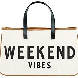 """Creative Brands D3712 Hold Everything Tote Bag, 20"""" x 11"""", Weekend Vibes   Amazon (US)"""