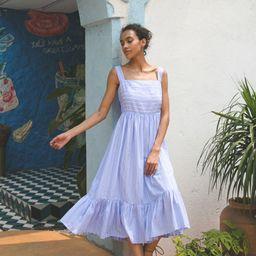Summery Sense Blue Stripe Cami Dress | Chicwish