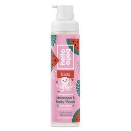 Hello Bello Kids Shampoo & Body Wash, Watermelon, 10 oz | Walmart (US)