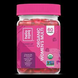 Hello Bello Organic Women's Multi Vitamin Gummy, 60ct | Walmart (US)