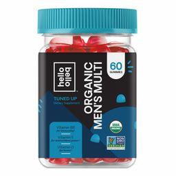 Hello Bello Organic Men's Multi Vitamin Gummy, 60ct | Walmart (US)