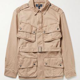 Beige Belted Cotton-Twill Jacket   POLO RALPH LAUREN   MR PORTER   Mr Porter (US & CA)
