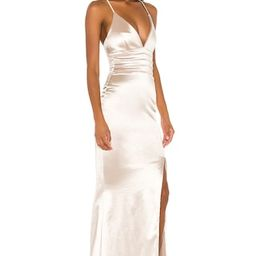Nookie Starstruck Gown in Champagne from Revolve.com | Revolve Clothing (Global)