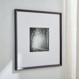Icon 11x11 Black Picture Frame + Reviews   Crate and Barrel   Crate & Barrel