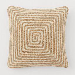Jute Cushion Cover   H&M (US)