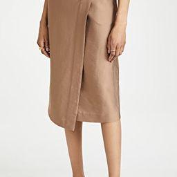 Asymmetric Wrap Skirt | Shopbop
