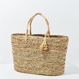 AE Straw Tote Bag | American Eagle Outfitters (US & CA)