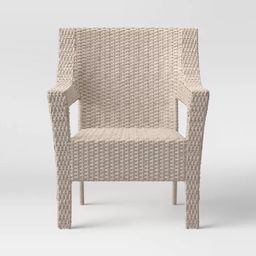 Southcrest Wicker Stacking Patio Club Chair - Threshold™   Target