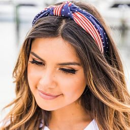 Great Pride Flag Knotted Headband | The Pink Lily Boutique