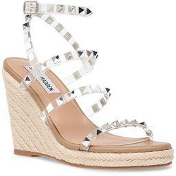 Steve Madden Women's Maici Studded Platform Wedge Espadrilles & Reviews - Wedges - Shoes - Macy's | Macys (US)