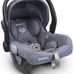 UPPAbaby MESA Infant Car Seat - Henry (Blue Marl) Wool Version, 26.5″ L x 17″ W x 23″ H | Amazon (US)