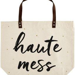 """Santa Barbara Design Studio, Coco + Ollie Canvas Tote Bag, 18"""" x 15"""", Haute Mess   Amazon (US)"""