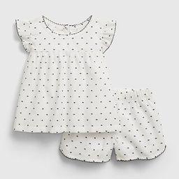 babyGap Polk-A-Dot PJ Outfit Set | Gap (US)