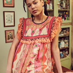 Sanya Ruffled Blouse | Anthropologie (US)
