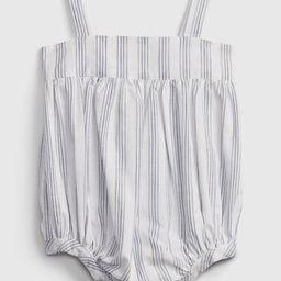 Baby Stripe Bubble One-Piece | Gap (US)