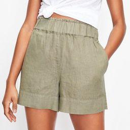 Lou & Grey Linen Pull On Shorts   LOFT