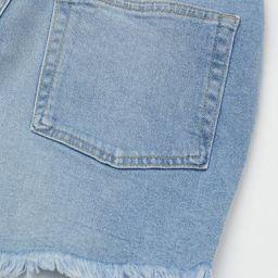 High Waist Denim Shorts | H&M (US)
