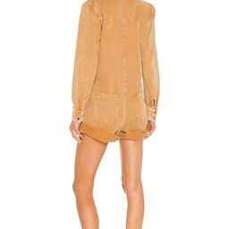 One Teaspoon Prophecy Jumpsuit in Tobacco from Revolve.com   Revolve Clothing (Global)