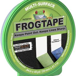 FROGTAPE 1396748 Multi-Surface Painting Tape.94 inch Width, Green   Amazon (US)