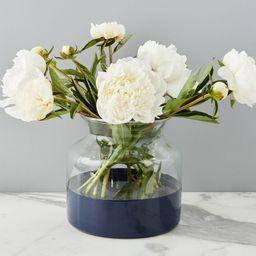 Color Block Glass Mason Jar Vase Collection   Pottery Barn (US)