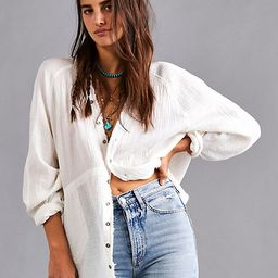 We The Free Summer Daydream Buttondown   Free People (US)