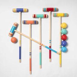 Kids' Croquet Lawn Sports Set - Sun Squad™ | Target