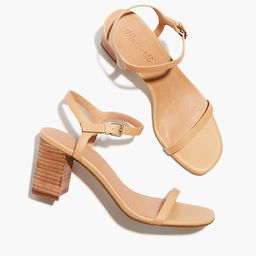The Holly Ankle-Strap Sandal in Leather | Madewell