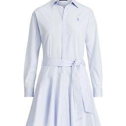 Cotton Broadcloth Shirtdress   Saks Fifth Avenue