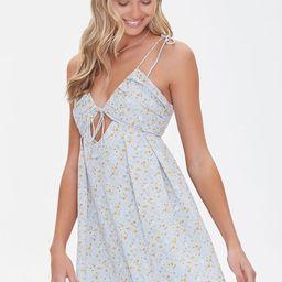 Floral Print Fit & Flare Dress   Forever 21 (US)