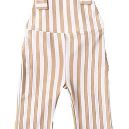 ZAXARRA Toddler Kids Baby Girl Stripes Bell-Bottom Jumpsuit Romper Overalls Pants Outfits | Amazon (US)