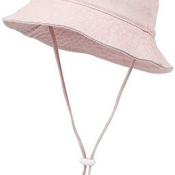 Kids Baby Cotton Bucket Hat Sun Hat Toddler Summer Beach Hat Sun Protection Hiking Fishing Hat Vi... | Amazon (US)