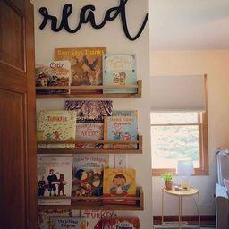 Nursery Bookshelf, Nursery Shelves, Children's Bookshelves, Floating Shelves, Bookshelves, Kid's ...   Etsy (US)