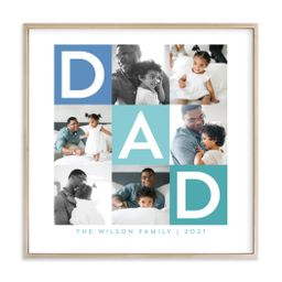 """""""Best Dad Ever Boxes"""" - Custom Photo Art Print by Alethea and Ruth.   Minted"""