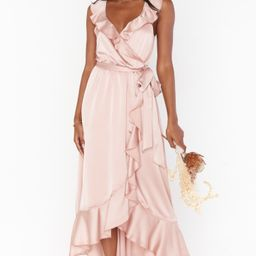 Samantha Ruffle Wrap Dress | Show Me Your Mumu