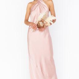 Jasmine Halter Maxi Dress | Show Me Your Mumu