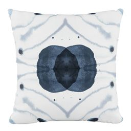 Delray Outdoor Throw Pillow Blue - Skyline Furniture | Target