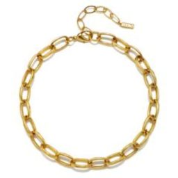 Elodie Chain Choker Necklace | Sequin
