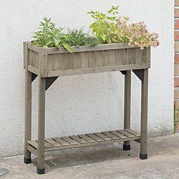 Vegtrug 4 Pocket Slimline Cedar Herb Garden Planter | QVC