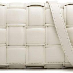 Woven Crossbody Handbag Purse for Women, Small Shoulder Messenger Bag Clutch Wallet Square Bag   Amazon (US)