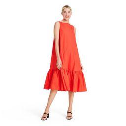Sleeveless Ruffle Shift Dress - Christopher John Rogers for Target Red   Target