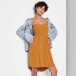 Women's Sleeveless Open Back Babydoll Dress - Wild Fable™ | Target