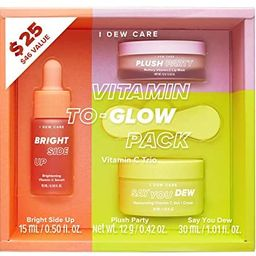 I DEW CARE Vitamin To-Glow Pack Skin Care Set | Brightening Skincare Starter Kit | Korean Skincar... | Amazon (US)