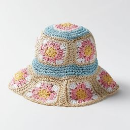 Kora Crochet Bucket Hat | Urban Outfitters (US and RoW)