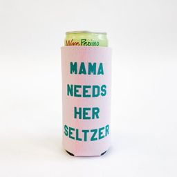 Mama Needs Her Seltzer Koozie - Lilac   Alice & Wonder