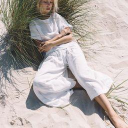 Clementine trousers / Culottes / Linen Culottes / Wide linen pants / Linen pants / Soft linen pan... | Etsy (CAD)