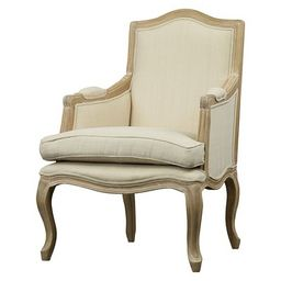 Upholstered Chair Buff Beige - Baxton Studio | Target